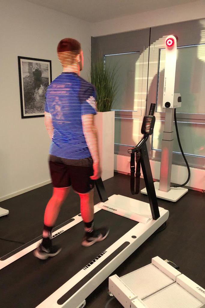 Bewegungsanalyse Leistungssportler
