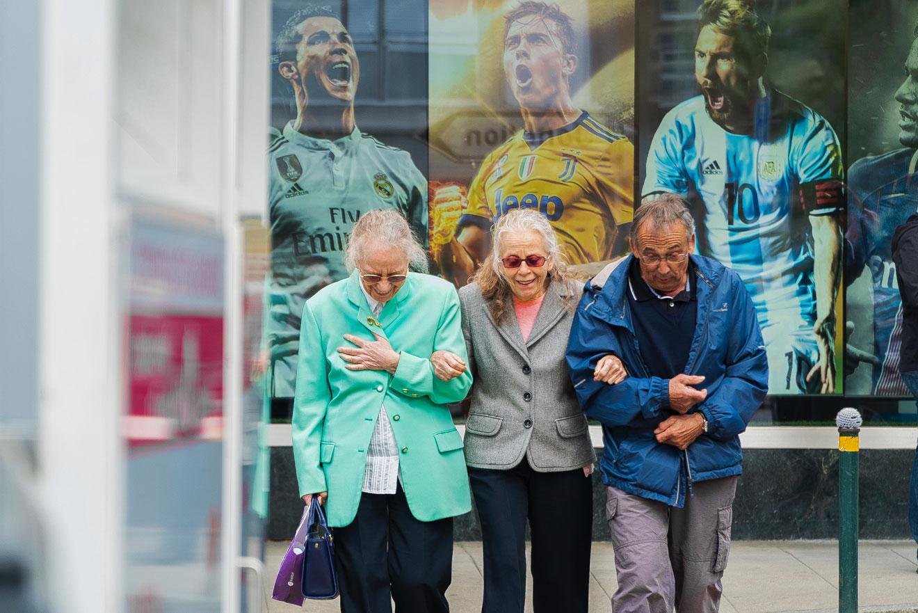 Menschen werden immer älter